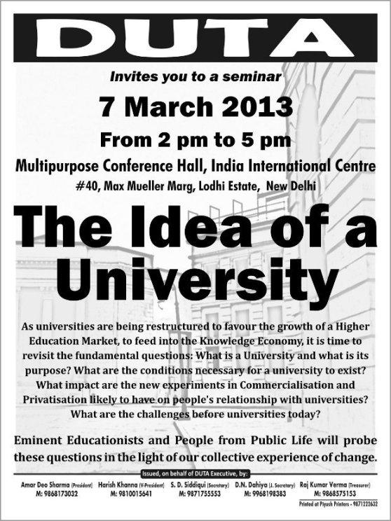 Idea of a University